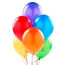 Birthday Express 230869 Metallic Rainbow Latex Balloons