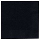 Creative Converting 233013 Black Velvet (Black) Beverage Napkins
