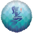 Birthday Express 237183 Mermaids Under the Sea Foil Balloon