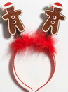 Forum Novelties 240156 Gingerbread Bopper Headband, Standard One Size