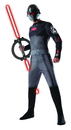 Rubies Costumes 884903STD Star Wars Rebels Inquisitor Adult Costume - Standard One-Size