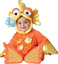 In Character Costumes 241702 Giggly Goldfish Infant Costume, 6-12 Months
