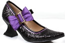Ellie Shoes 242332 Girl's Black Witch Shoes, Small