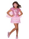 Rubies Costumes 610751-000-S Pink Supergirl Sequin Child Costume