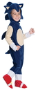 Rubies Costumes 242618 Sonic Toddler Romper Costume, Toddler (2-4)