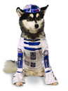 Rubies Costumes 888249S Star Wars R2D2 Pet Costume - Small