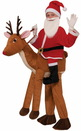 Forum Novelties 243444 Santa Ride a Reindeer Child Costume One-Size