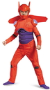 Disguise 243820 Big Hero 6: Baymax Deluxe Muscle Child Costume, Large (10-12)