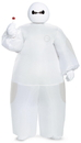 Disguise 243825 Big Hero 6: White Baymax Inflatable Child Costume, Standard One Size