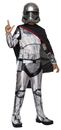 Rubies Costumes 244333 Star Wars Episode VII - Girls Captain Phasma Classic Costume, Small