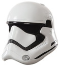 Rubies Costumes 244405 Star Wars Episode VII - Mens Stormtrooper Full Helmet, One-Size