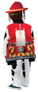 Rubies Costumes 244804 Paw Patrol Marshall Deluxe Kids Costume, Small (4-6)