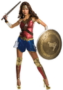 Rubies 244993 Batman v Superman: Dawn of Justice - Wonder Woman Grand Heritage Adult Costume, Small