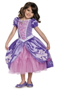 Disguise 245090 Sofia the First Sofia The Next Chapter Deluxe Toddler Costume - 3-4T