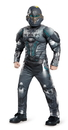 Disguise 245156 Halo Spartan Locke Classic Muscle Child Costume, Small