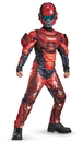 Disguise 245161 Halo Red Spartan Classic Muscle Child Costume, Large