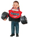 Rubies 245348 Blaze & the Monster Truck: Blaze Tunic Toddler Costume - X-Small