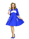 Fun World 245638 Sweet Sailin' Adult Plus Costume, 2X