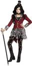 Fun World 245641 Freakshow Ringmistress Child Costume, Medium