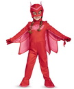 Disguise 245840 PJ Masks Owlette Deluxe Toddler Costume, 3-4T