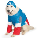 Rubies 245933 Captain America Pet Costume