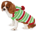 Rubies 882079 Candy Striped Sweater Pet Costume S