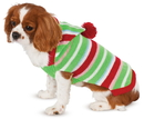 BuySeasons 580332M Candy Striped Sweater Pet Costume XS