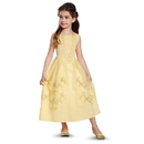 Disguise 248941 Disney Beauty and the Beast - Belle Ball Gown Classic Toddler Costume (3T - 4T)