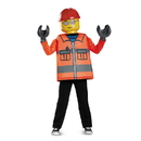 Disguise 249083 Lego Iconic - Construction Worker Classic Child Costume (10 - 12)