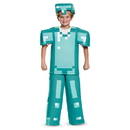 Disguise 249094 Minecraft Armor Prestige Child Costume S