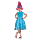 Disguise 249105 Trolls - Poppy Deluxe Child Costume w/Wig (7 - 8)