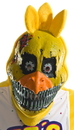 Rubies 249181 Five Nights at Freddy's - Nightmare Chica Adult PVC 3/4 Mask