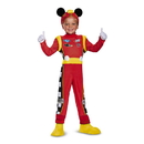 Disguise 249426 Mickey Roadster Deluxe Toddler Costume (3T - 4T)
