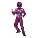 Disguise 249476 Power Rangers: Pink Ranger Deluxe Child Costume (10 - 12)