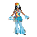 Disguise 249524 My Little Pony: Rainbow Dash Deluxe Toddler Costume (3T - 4T)