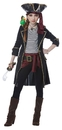 California Costumes 249718 High Seas Captain Girl - Child S