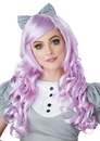 California Costumes 249728 Lavender Cosplay Doll Adult Wig w/ Clip on Bow