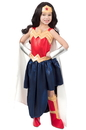 Super Hero Girls Premium Child Wonder Woman Formalwear M - 249839