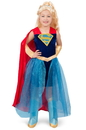 Super Hero Girls Premium Child Supergirl Formalwear S - 249843