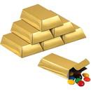Beistle 251533 Foil Gold Bar Favor Boxes (12)