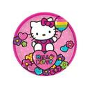 Amscan 251671 Hello Kitty Rainbow Dessert Plates (8)