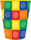 Creative Converting 253789 Building Block Party Favor Cup