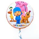 CTI 254225 Pocoyo Happy Birthday Foil Balloon