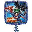 Mayflower 255250 Justice League Happy Birthday Foil Balloon
