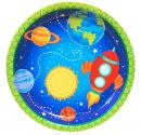 256480 Rocket to Space 9 Dinner Plates (8)