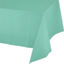 Mint Plastic Tablecover - 257089