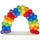 104283 Celebration Tabletop Balloon Arch-Rainbow