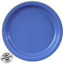 2145C True Blue (Blue) Paper Dinner Plates
