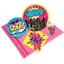 Superhero Girl 24 Guest Party Pack