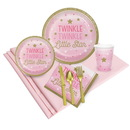winkle Twinkle Little Star Pink 24 Guest Party Pack